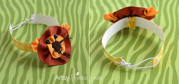 Laminated Bracelet Craft Using Patterned Paper