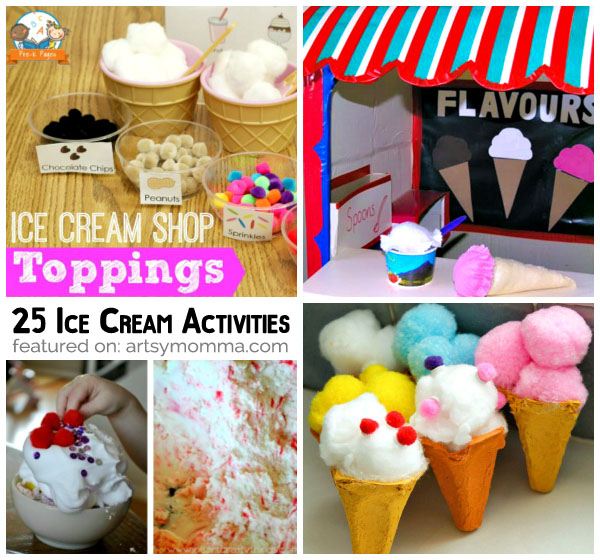 Pretend Ice Cream Shop Ideas
