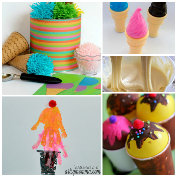 Kids Activities Inspired by Ice Cream
