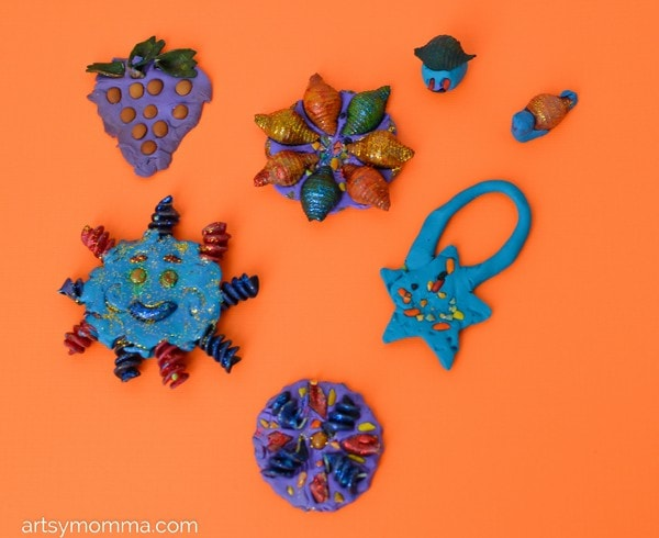 Pasta & Clay Craft Project Ideas for Kids