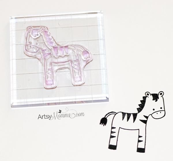 My Favorite Things Zebra Stamp Craft