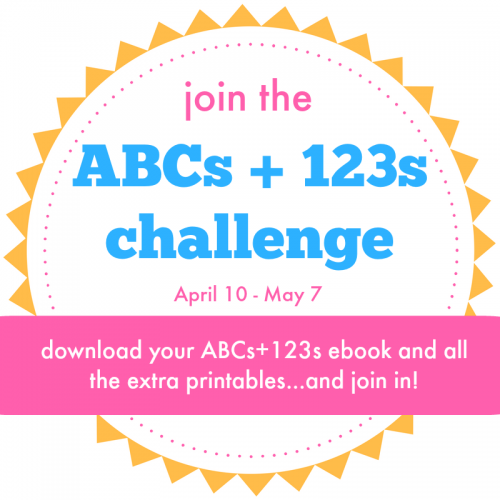 Join the ABC & 123 Challenge!