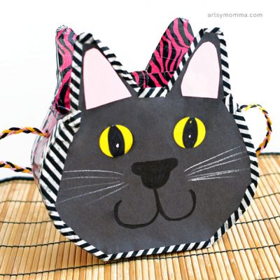 Black Cat Cereal Box Purse Kids will Adore