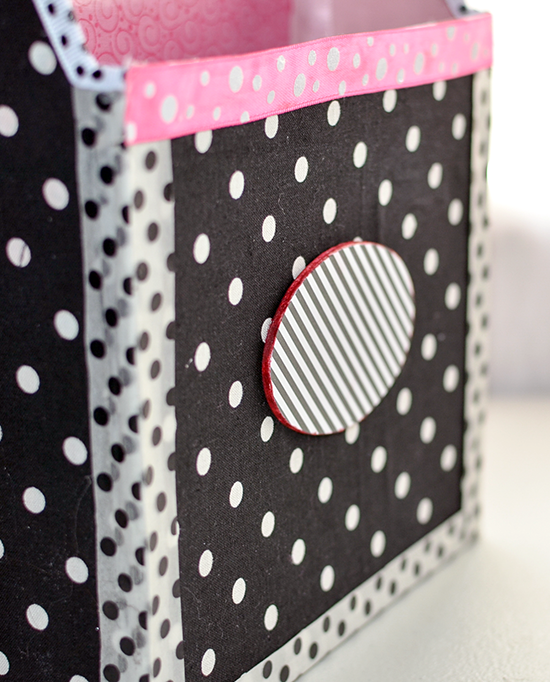 Fabric Covered Storage Box Tutorial