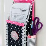 Recycled Cardboard Homework Organizer