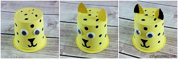 How to make a k cup cheetah craft
