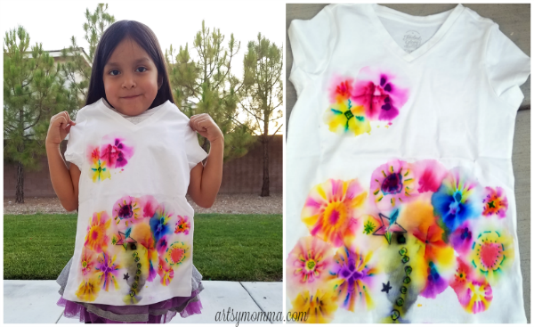 Kids Sharpie Shirt Tutorial