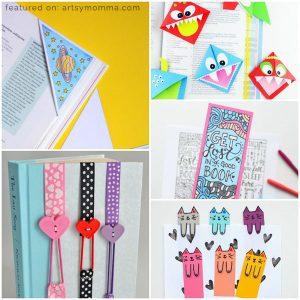 Creative DIY Bookmarks for Kids