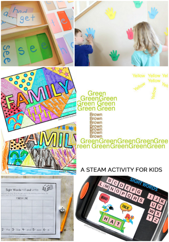 Effective Sight Word Activities for Preschoolers that are fun!