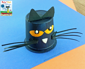 Pete the Cat Book + Adorable Pete-inspired K Cup Craft