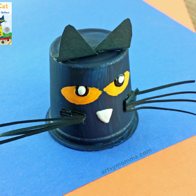 K Cup Pete the Cat Book Inspired Craft