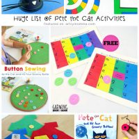 Back to School with Pete the Cat Activities, Printables, and Crafts