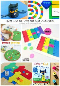 Pete the Cat and His Four Groovy Buttons Activity Ideas