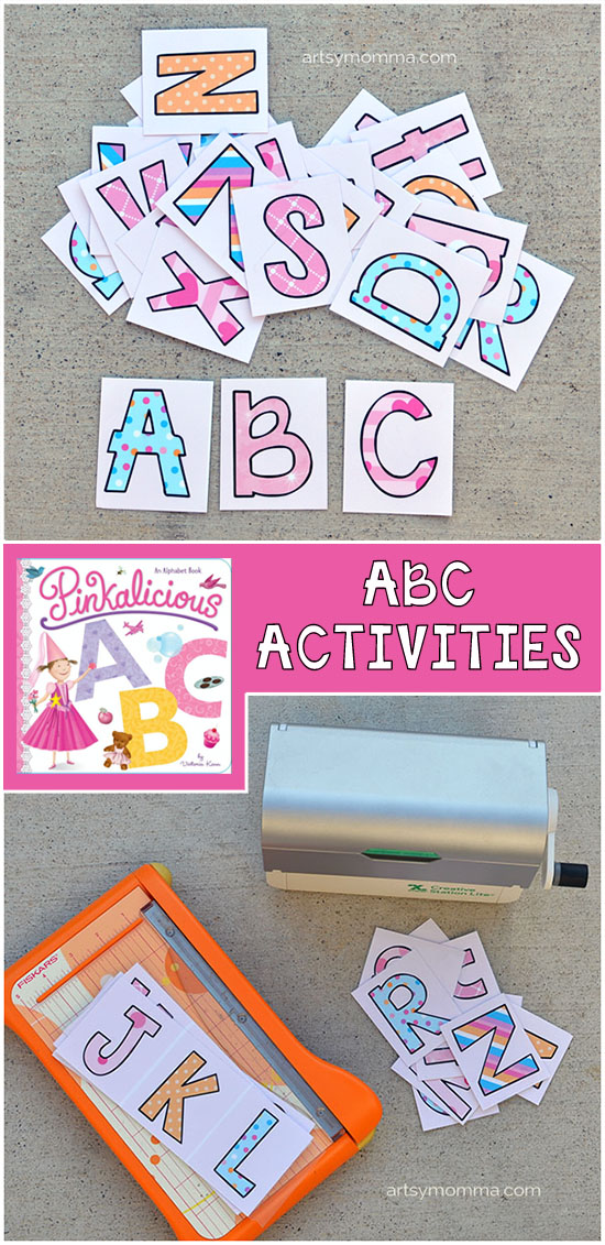 Pinkalicious Alphabet Book with Printable Alphabet Activities for Preschoolers