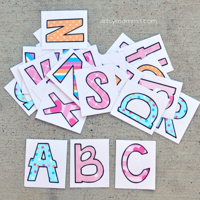 Printable Letter Activity Ideas|Pinkalicious ABC: An Alphabet Book