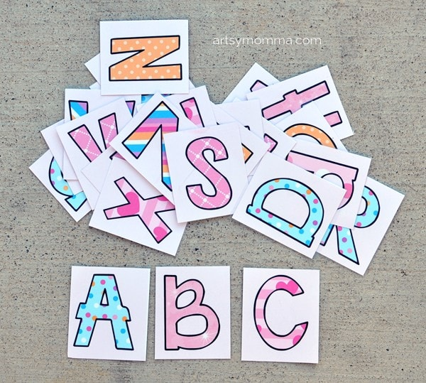 Laminated Alphabet Activity Cards Printable