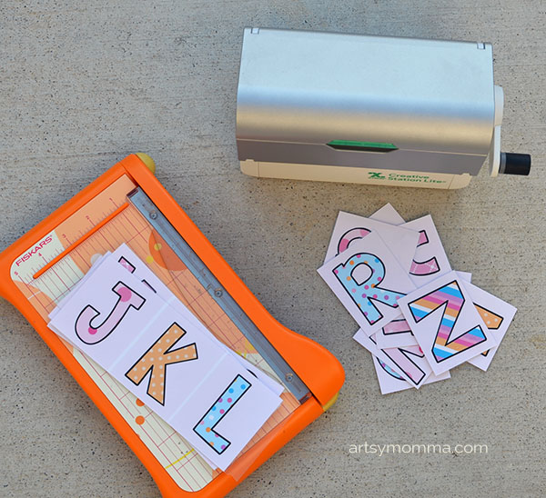 Printable Activity Cards for an Alphabet Hunt and Learning Ideas