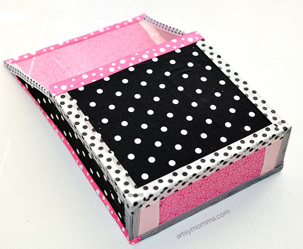 Recycled-Box-Magazine-Holder-Fabric-Covered