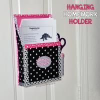 DIY Magnetic Hanging Homework Holder – Cute Decor Project