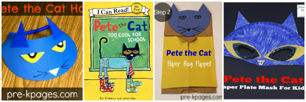 Too Cool for School Pete Craft Activities