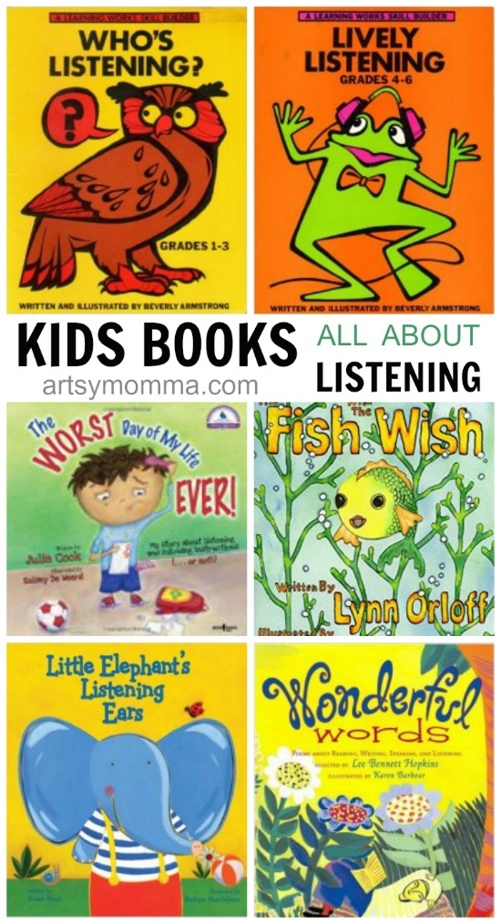 learning the importance of listening books for kids artsy momma