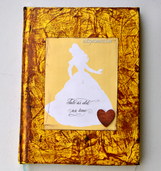 Belle Silhouette - Beauty & The Beast Song Quote