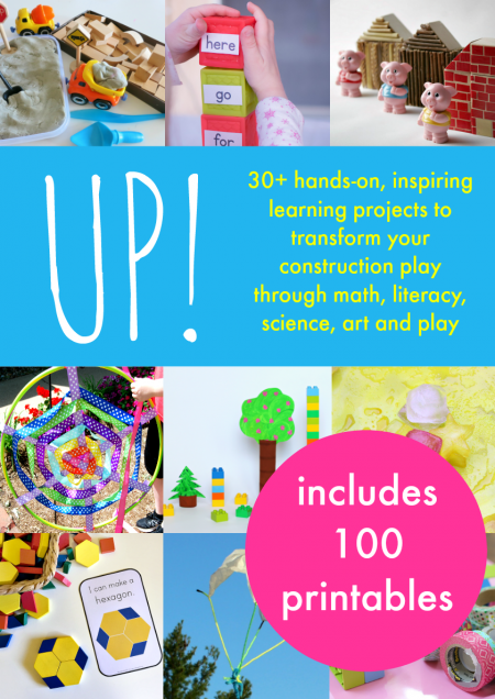 UP! Collaborative eBook by Kids Activity Bloggers - learning through play and hands-on activities