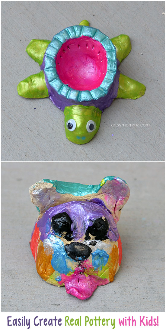 Easily Create Real Pottery Projects with Kids