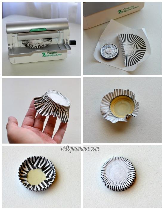 Handmade Halloween Treat Jar - Using Xyron Adhesive