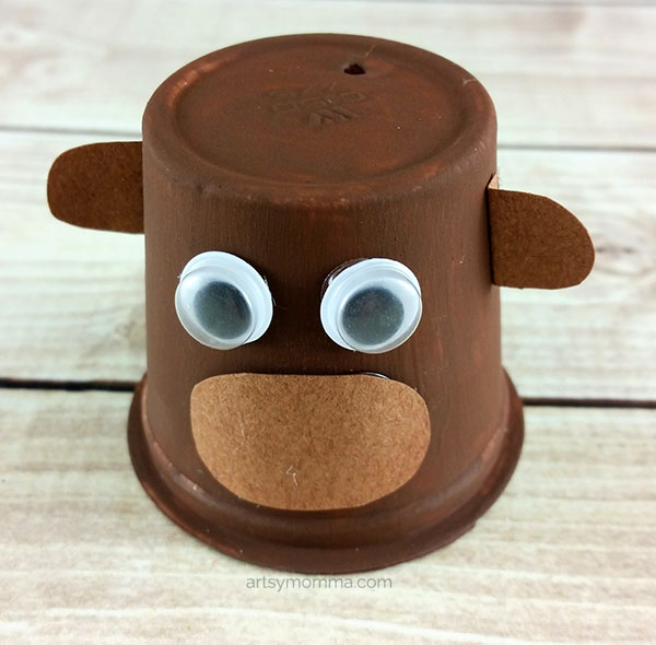 Monkey K Cup Craft for Kids