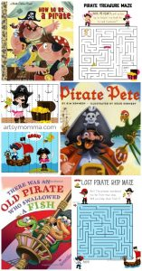 Pirate Printables and Books About Pirates