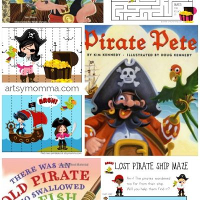 Printable Pirate Puzzles – Talk Like A Pirate Day