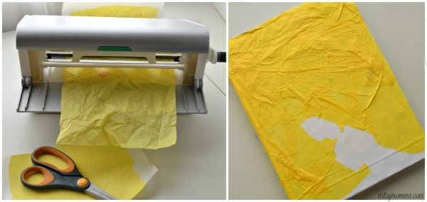 Using Tissue Paper with the Xyron® Creative Station