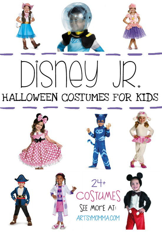 Dress up for Halloween or Imaginative Play with Your Favorite Disney Jr. Costume!