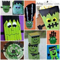 15 Freakishly Fun Frankenstein Crafts