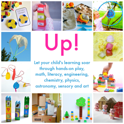 Learn with UP! Hands-on, Project-based Activities (ages 4-10)