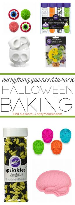 Not-so-scary Halloween Baking Supplies Kids Will Love - Huge list!