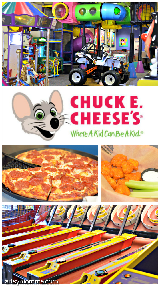 Head to Chuck E. Cheese's for a safe, affordable family fun day! + GIVEAWAY #ad