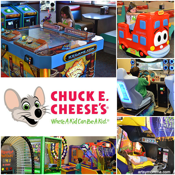 Family Fun at Chuck E. Cheese's + Giveaway