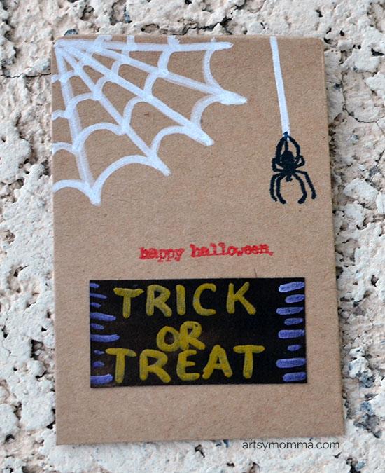 DIY Halloween Favor Bags for Kids