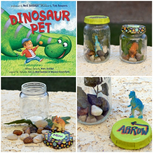 Dinosaur Pet and Book Craft