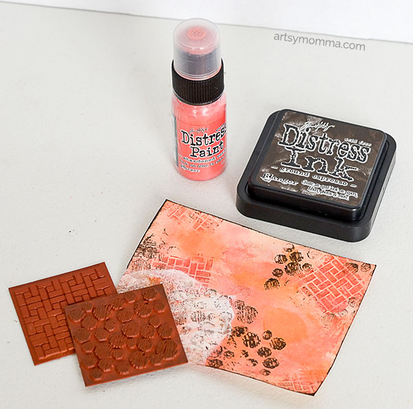 distress-paint-and-stamping-technique