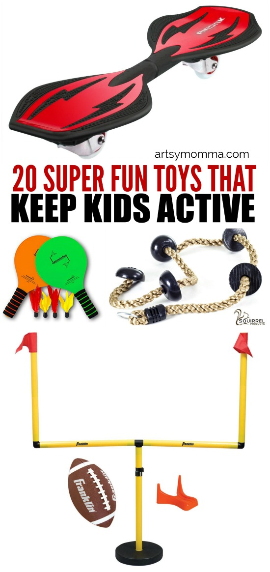20 Super Fun Toys That Keep Kids Active All Year Long
