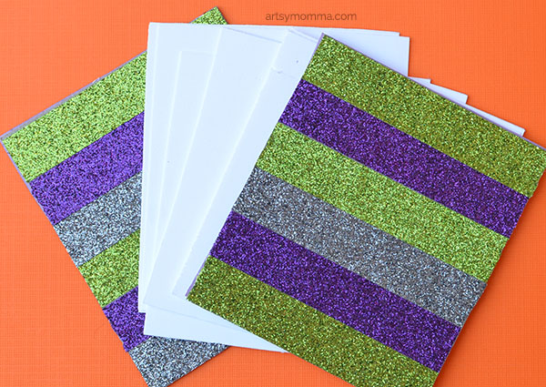 Glitter Washi Tape Mini Notepad Craft