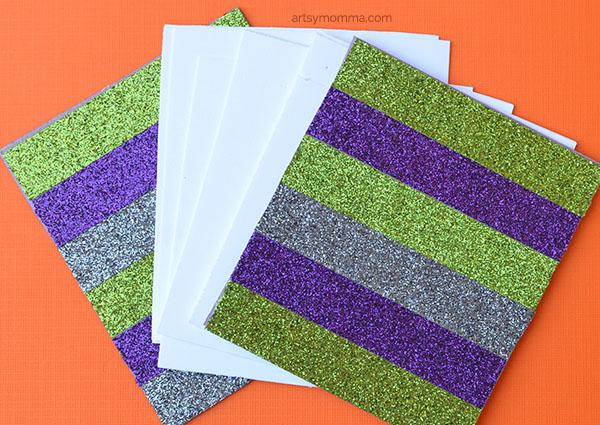 Glitter Washi Tape Mini Notepad Craft