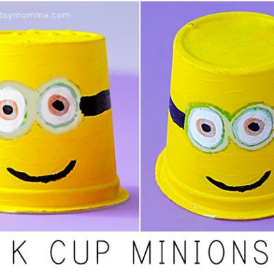 Minions Made From K Cups
