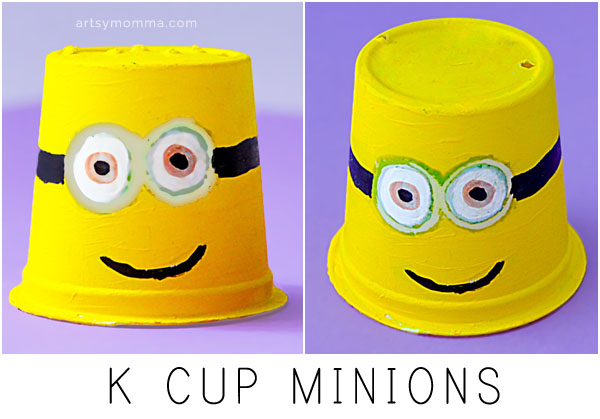 K Cup Minions Craft Idea