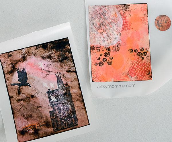 mixed-media-halloween-art-projects