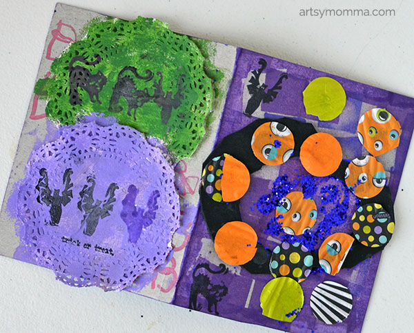 Open-ended Halloween Craft for Kindergartners