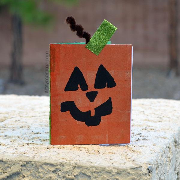 Mini Halloween Sketch Book Craft